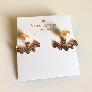 Chantilly Rose Gold-plated Multi Charm Ear Jacket